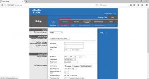 Setting switch untuk daftar perangkat wifi
