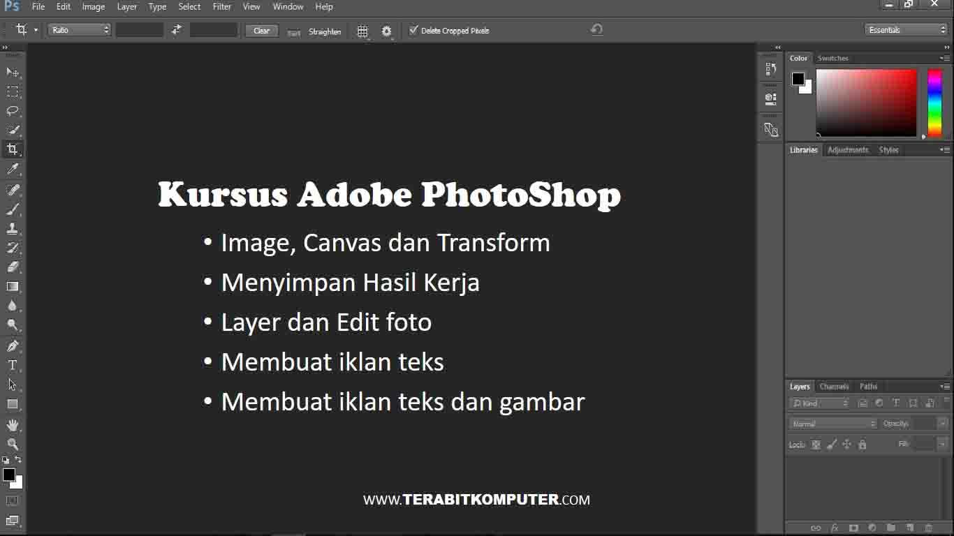Kursus Adobe PhotoShop