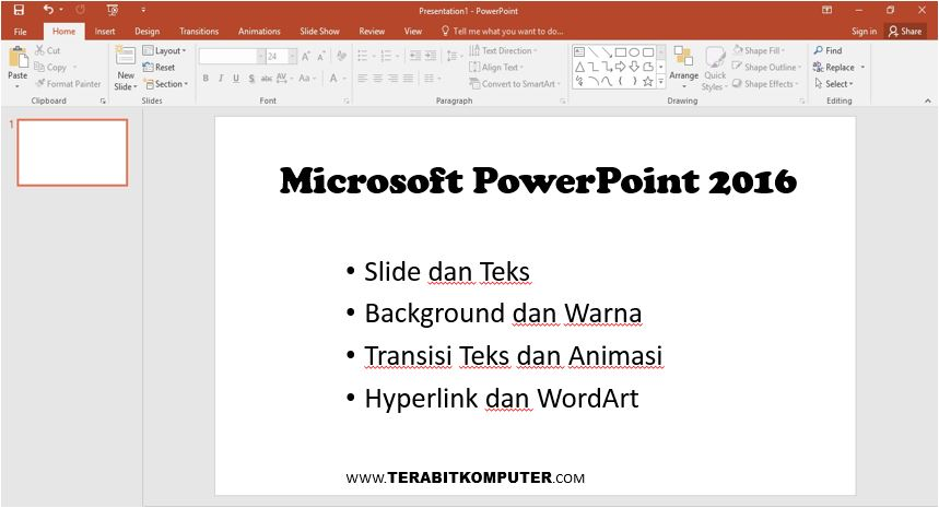 Kursus Microsoft Power Point
