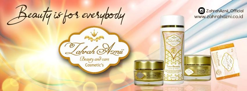 Paket Zahrah Aznii Glowing Beauty