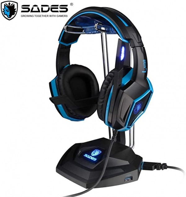Headset Stand Sades Anubis Staff SA-W10