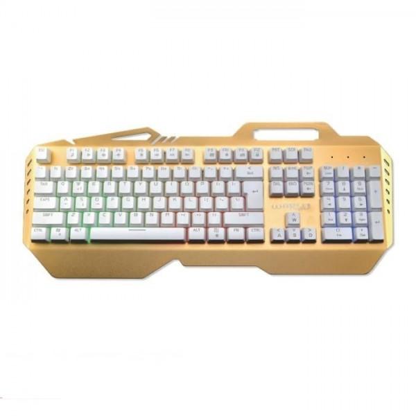 Keyboard Gaming Warwolf V7 Mechanical Aluminium