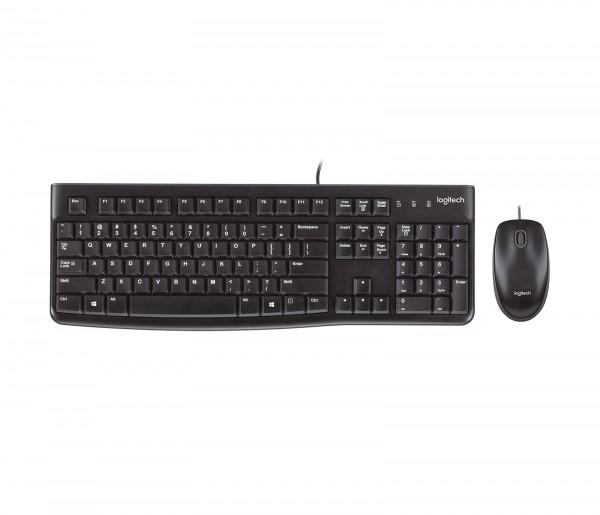 Keyboard Mouse Gaming Logitech MK120