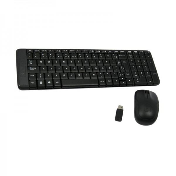 Keyboard Mouse Gaming Logitech MK220 Wireless