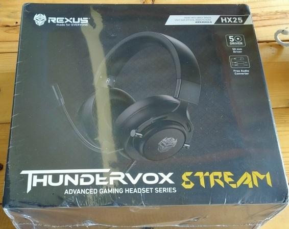 Headset Gaming Rexus Thundervox HX25