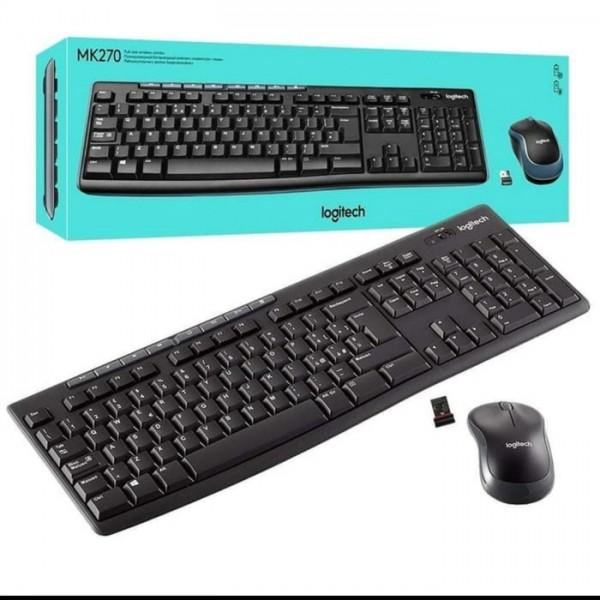 Keyboard Mouse Logitech MK270 Wireless