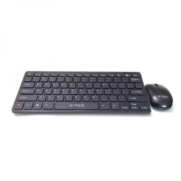 Keyboard Mouse Gaming MTech STK03 Wireless