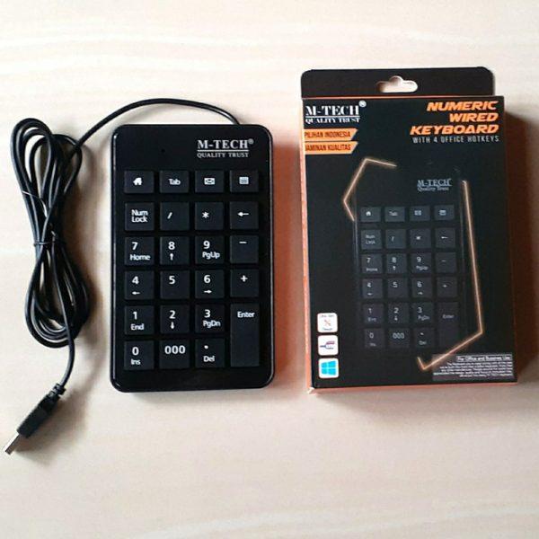 Keyboard Mtech Numeric
