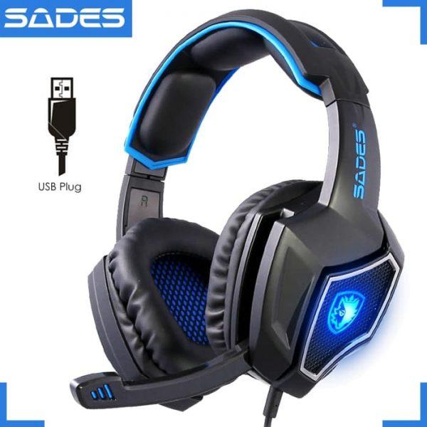 Headset Gaming Sades Spirit Wolf