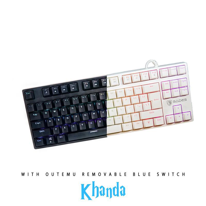 Keyboard Gaming Sades Khanda Mechanical