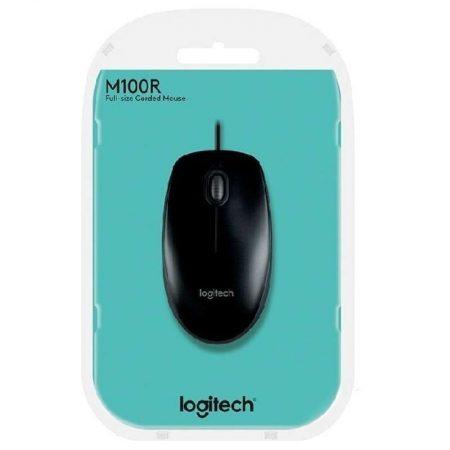 Mouse Logitech M100r USB