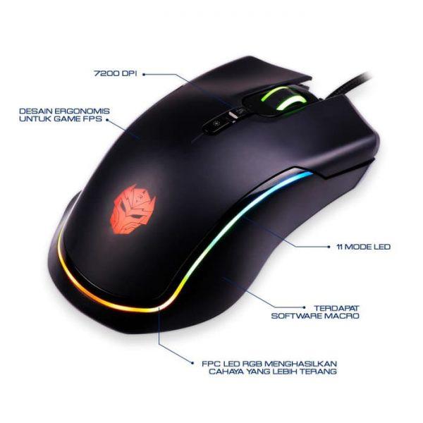 Mouse Gaming Rexus X13 Xierra
